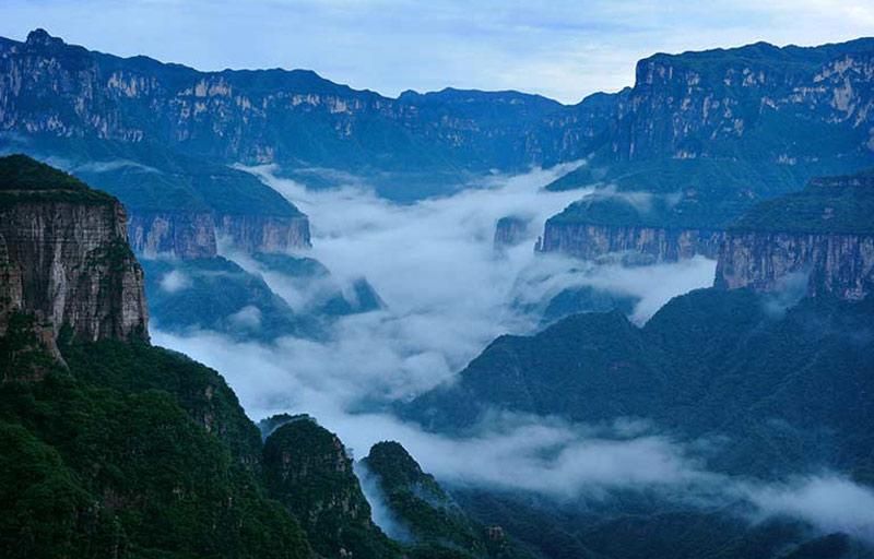 天界山云海